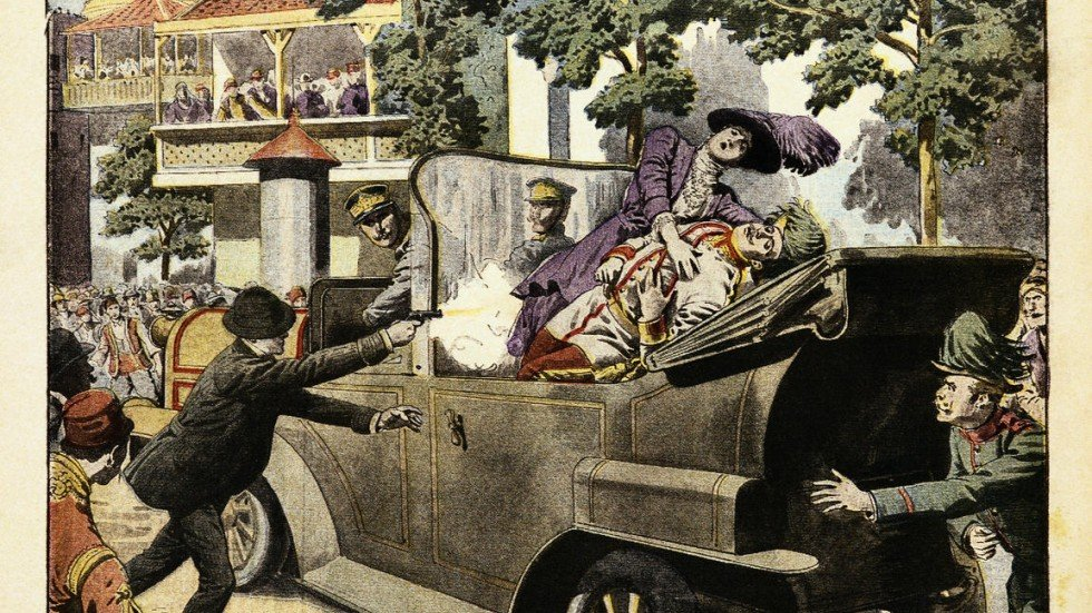 Diary entry assassination of the archduke
