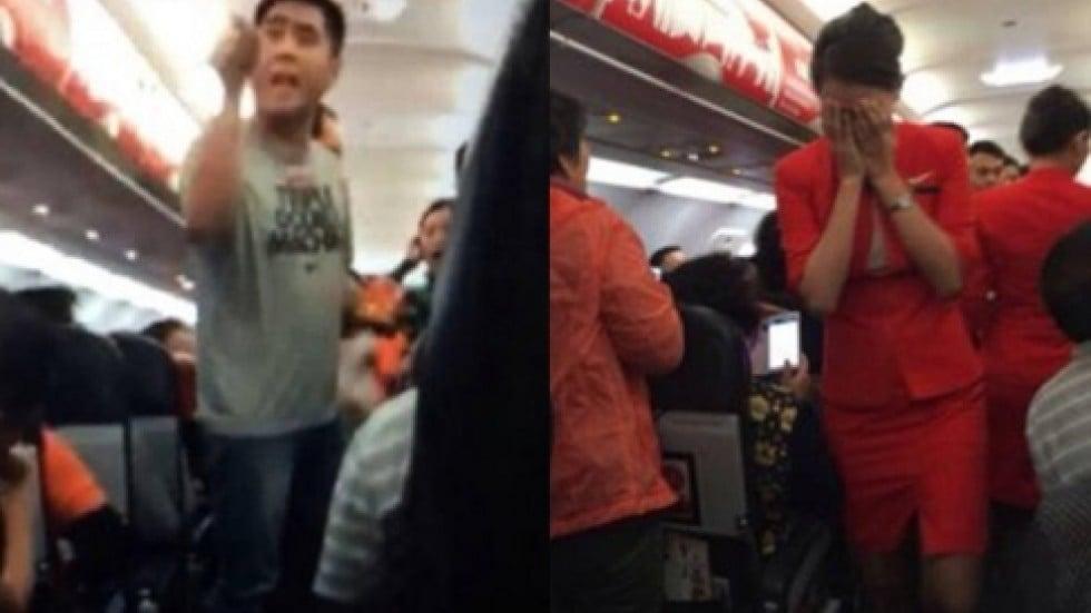 Left behind stewardess sexual harassment