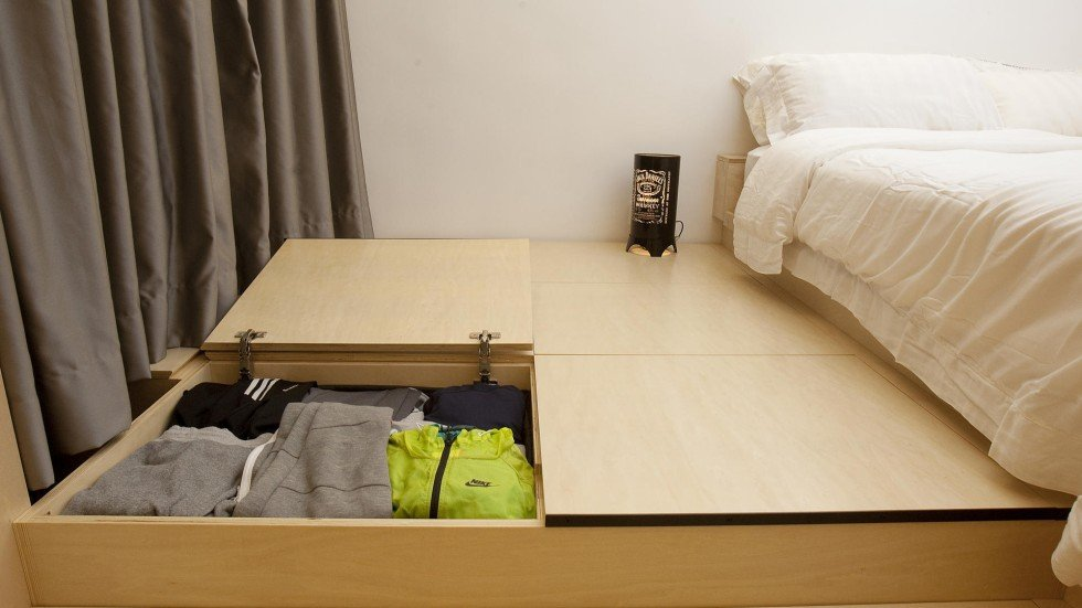 Organised storage puts Hong Kong\'s tight apartment spaces to good ...