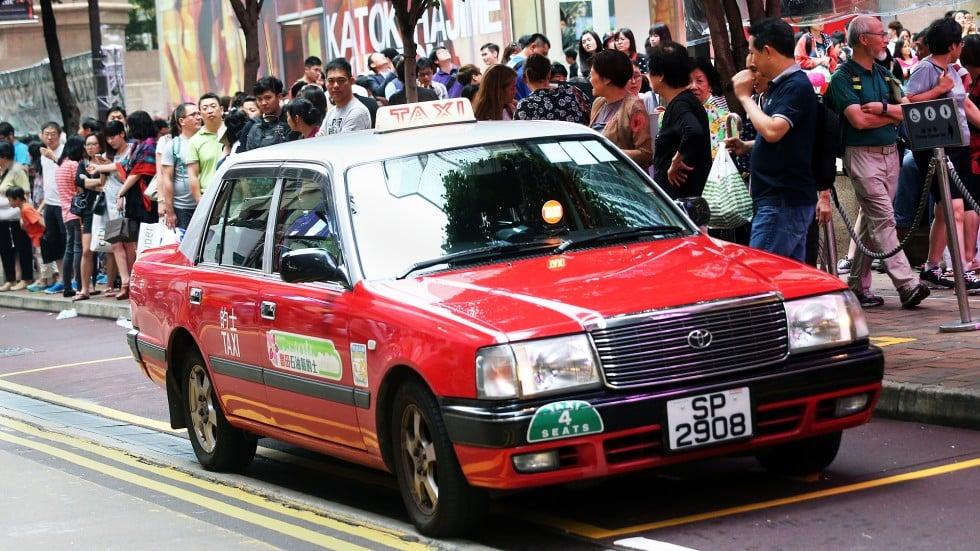 ผลการค้นหารูปภาพสำหรับ hong kong taxi
