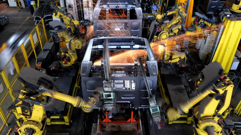 robotics in manufacturing The history of automation in the manufacturing industry can be traced back to the early use of basic pneumatic and hydraulic systems, up to the modern robots used by industry today.