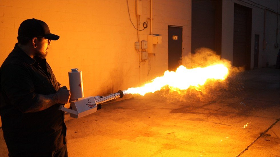 Behold The Xm42 Flamethrower The Terrifying Weapon You