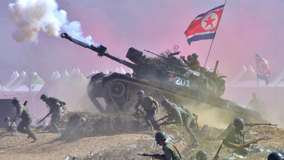 كوريا الشمالية هي القوة البحرية الأولى عالميًّا..   Skorea-nkorea-military-war_jyj492_52525937
