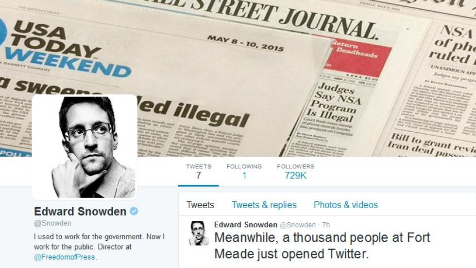 Can you hear me now?\': Edward Snowden joins Twitter, gets 10 times ...