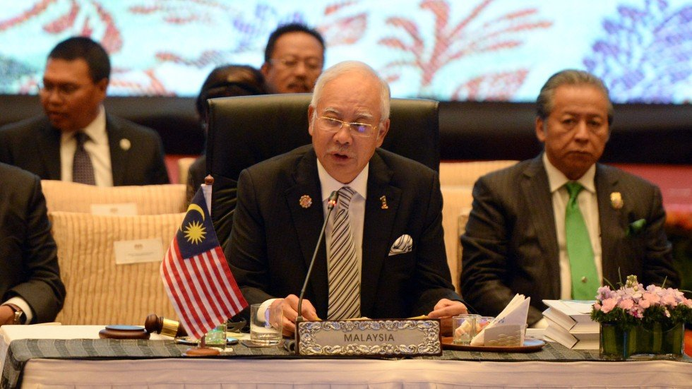 Image result for Najib in China for One Silk Road Summit