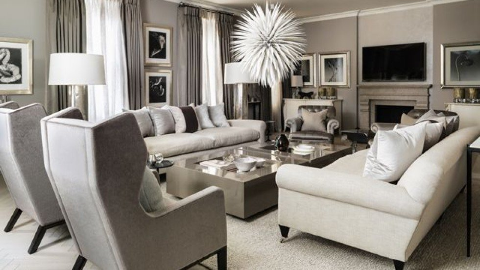 An Elegant And Chic Interior Designed By Kelly Hoppen. Photo: Kelly Hoppen  Interiors