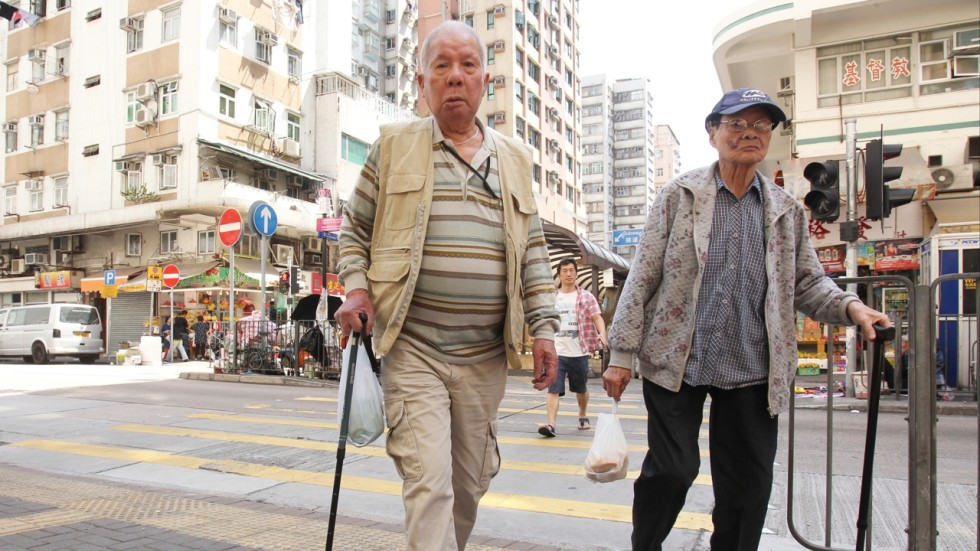 Hong Kong has a problem with population ageing, rather than an elderly problem