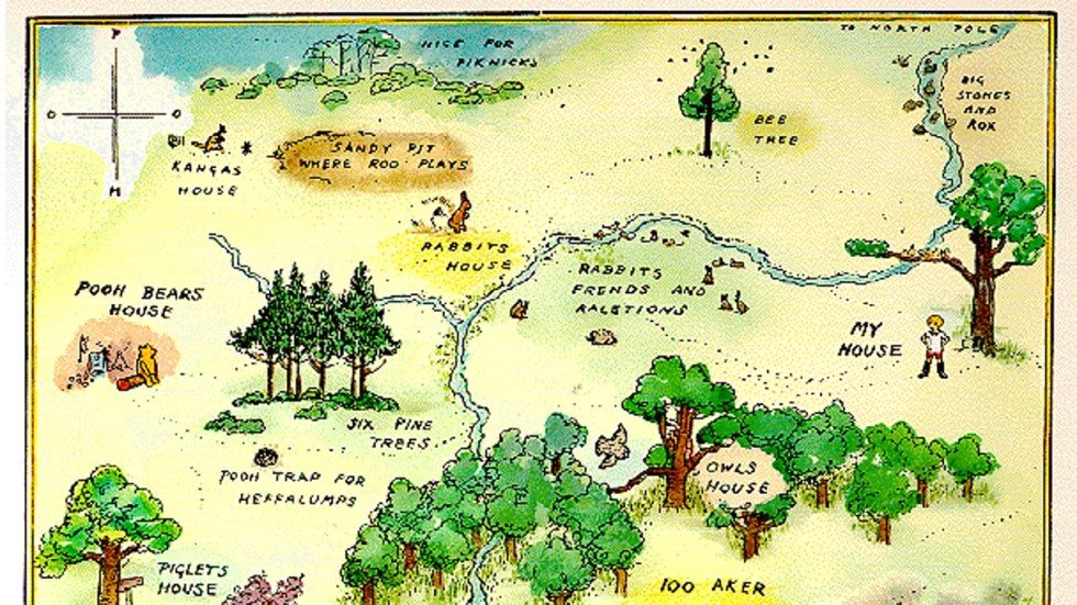 exploring the english wood where winnie the pooh and friends