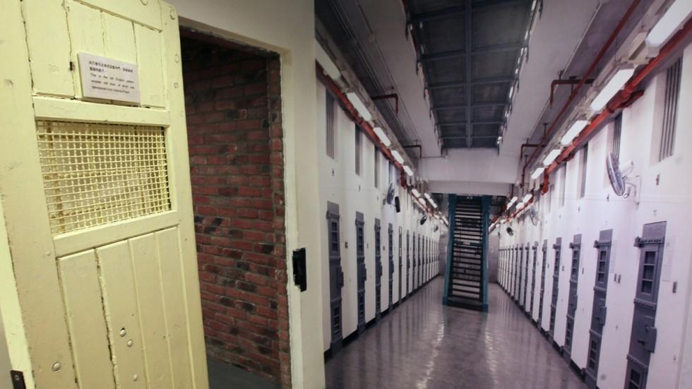 Jail cell sex girls, grandma boy naked scene
