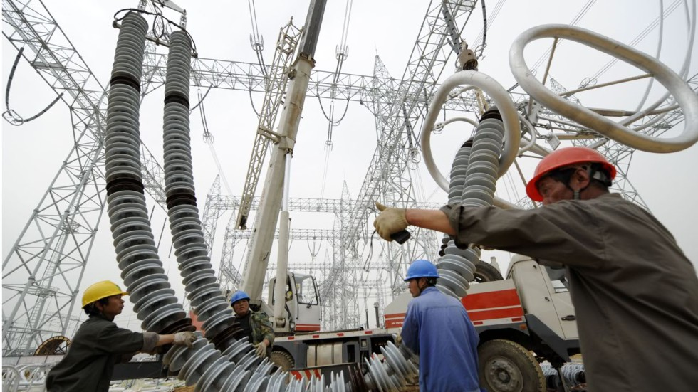 China S Under Utilised Ultra High Voltage Power Lines No