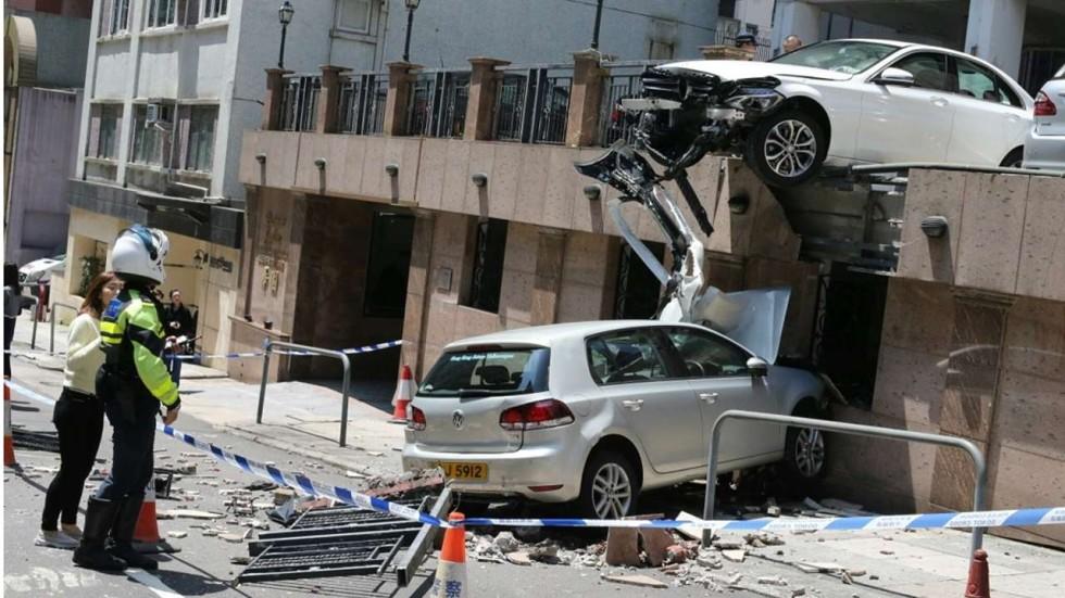 Hongkonger Injured In Freak Car Parking Accident South