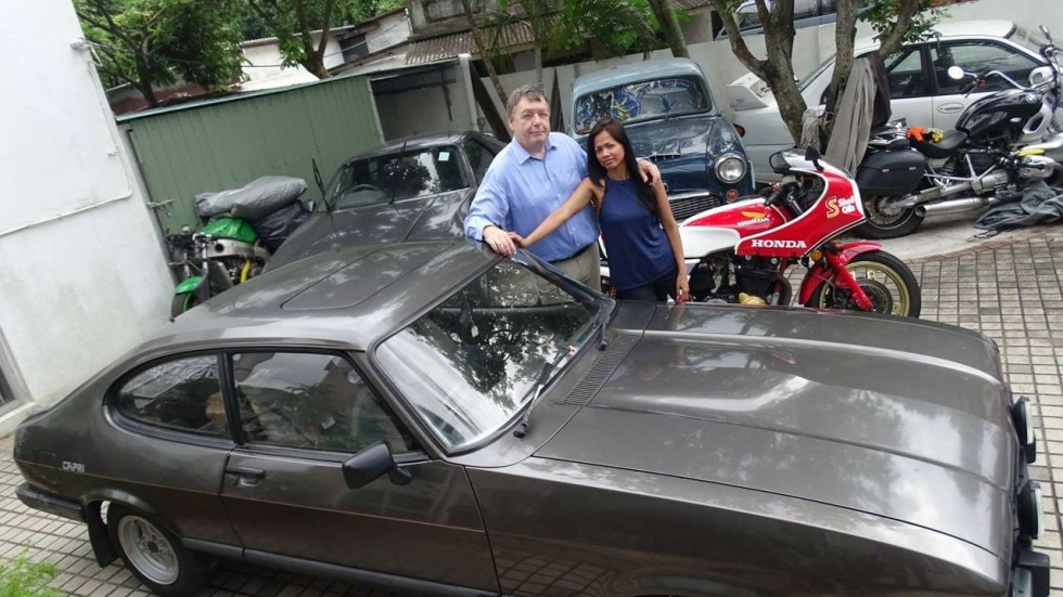 Hong Kong architect Ian Foster sees beauty in older cars his friends ...