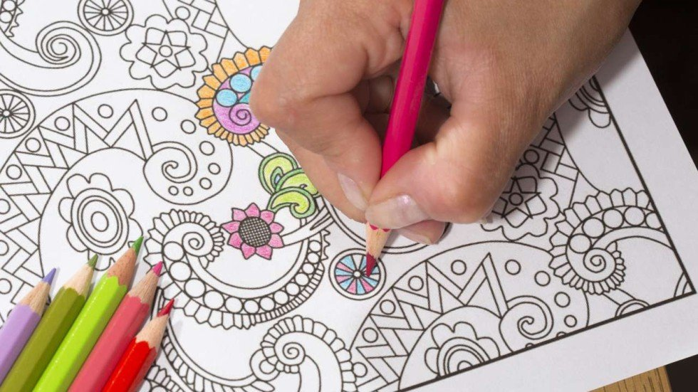 App Makers Try To Cash In On The Craze For Adult Colouring Books