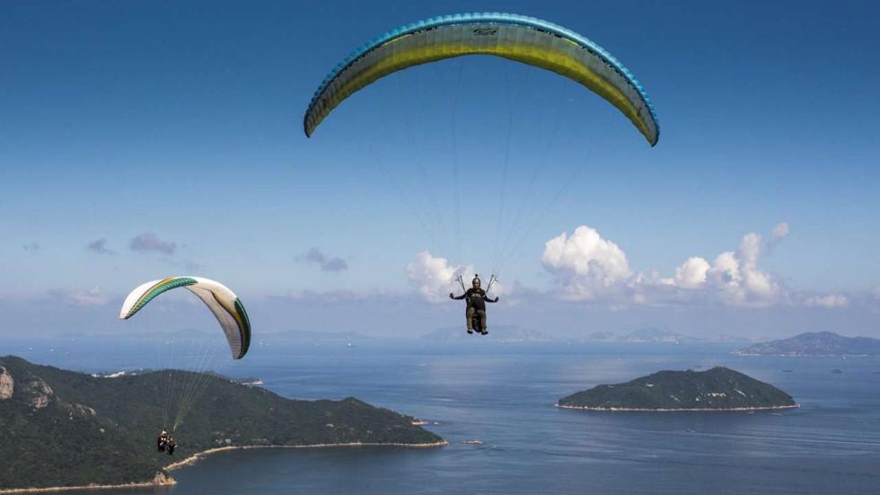 PARAGLIDING IN HONG KONG - Paragliding in Hong Kong