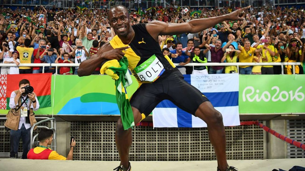 d8cb9a9e5ae Mission accomplished  Usain Bolt enjoys his Olympic swansong as he ...