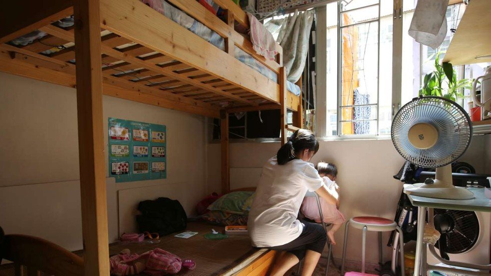 apartment inside poor. Naomi Ng Hong Kong s poorest squeezed as rents for tiny subdivided flats rise