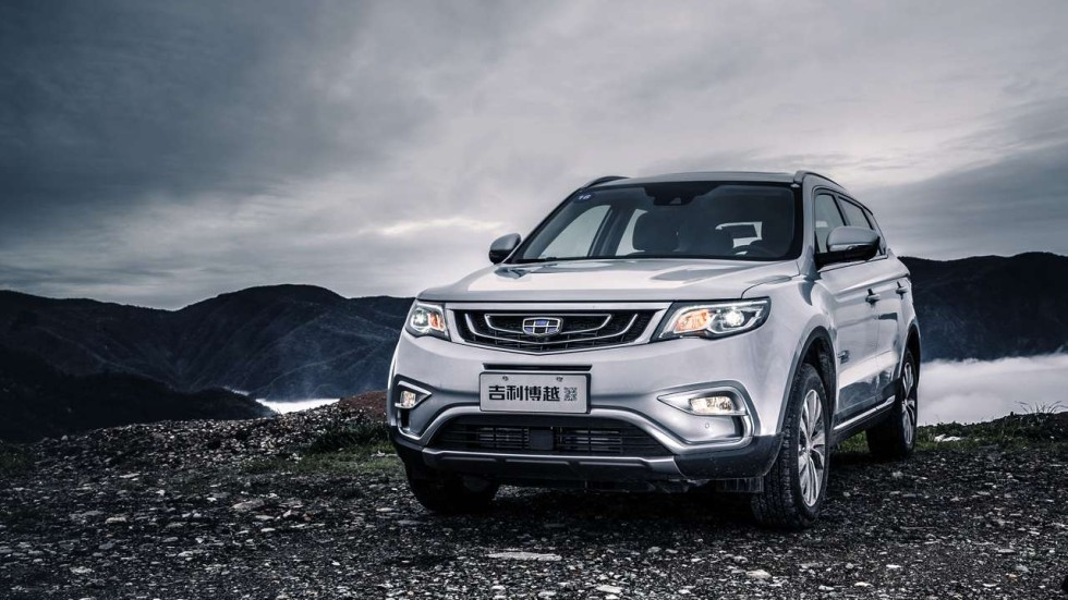 Geely Boyue Suv Benefits From Volvo Makeover South China