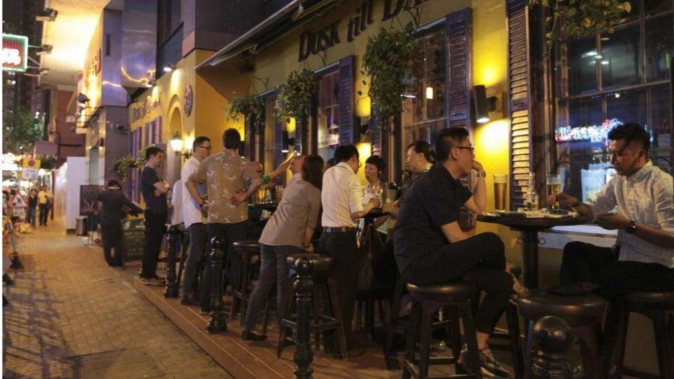 experiences when they hit the wan chai bar scene photo bruce yan
