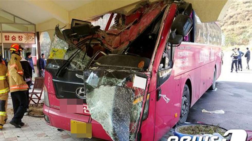 south bus four hongkongers injured in tour bus crash in south korea south