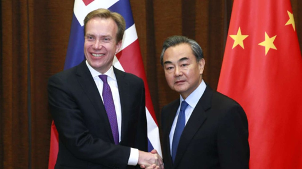 Image result for Norway and China announced Monday the resumption of diplomatic relations,
