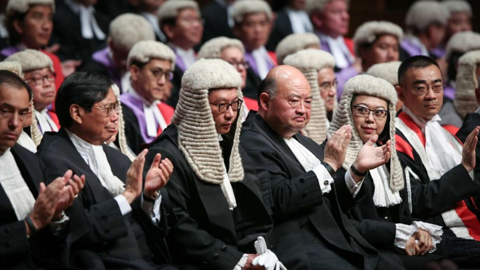 Image result for Judges in Hong Kong, Photos