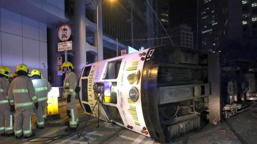 driver cover letter%0A Hong Kong police investigate passenger complaint about speeding in tram  accident