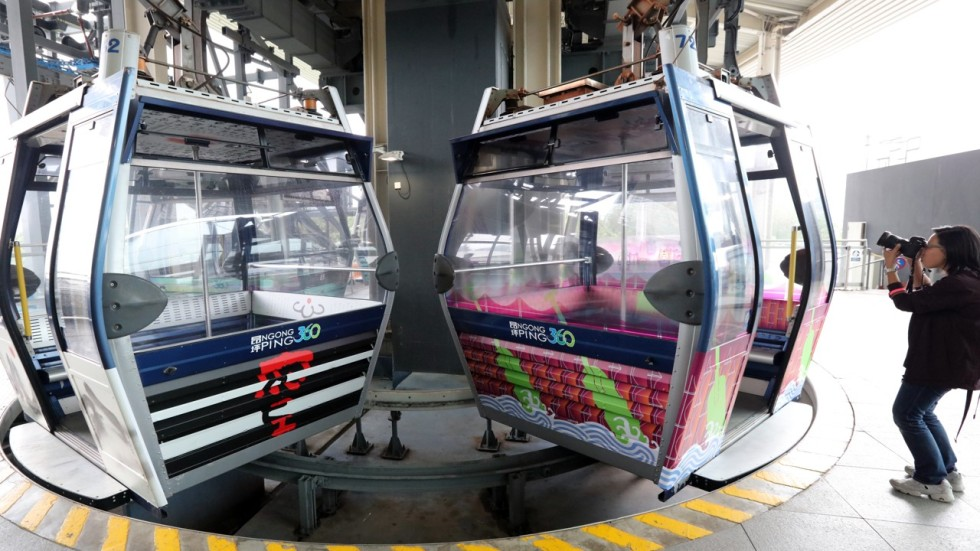 Hong Kong cable car operator confirms rides will resume in two weeks ...