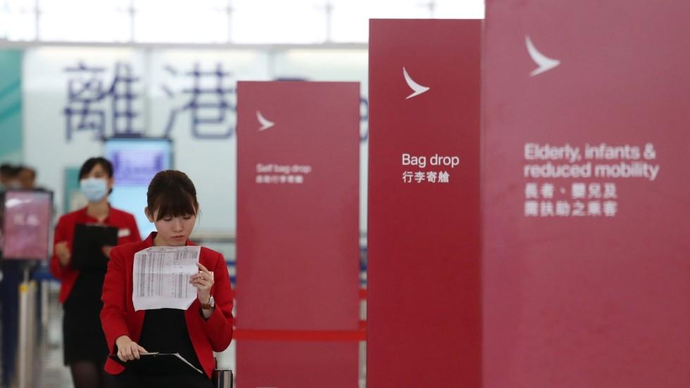 Hong Kong S Cathay Pacific Confirms 600 Staff To Go Amid