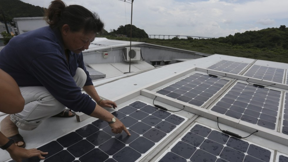 Hong Kong villagers using solar energy to help power their homes ...