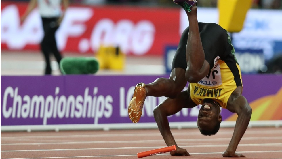 Usain Bolt Floored By Injury On Final Stretch Of His