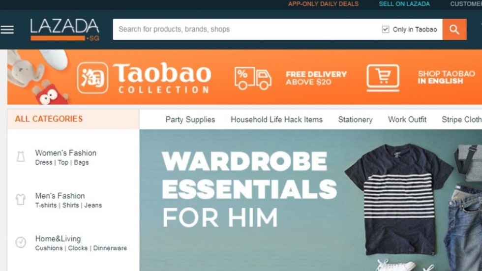 Alibabas Lazada Expands Sale Of Taobao Merchandise To More