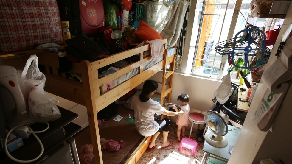 Average Living Space For Hong Kong S Poorest Residents