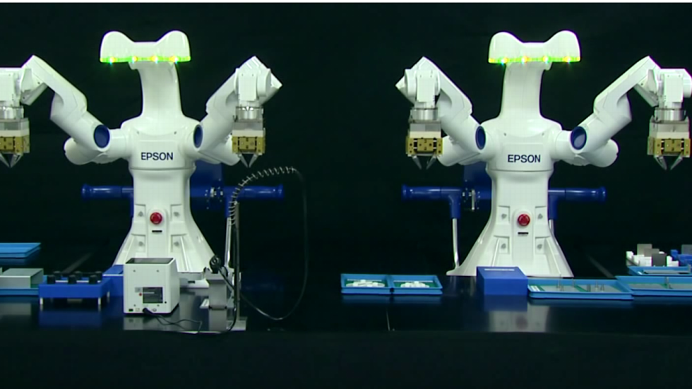 Epson Diversifying Into Robotics Wearable Gadgets South China