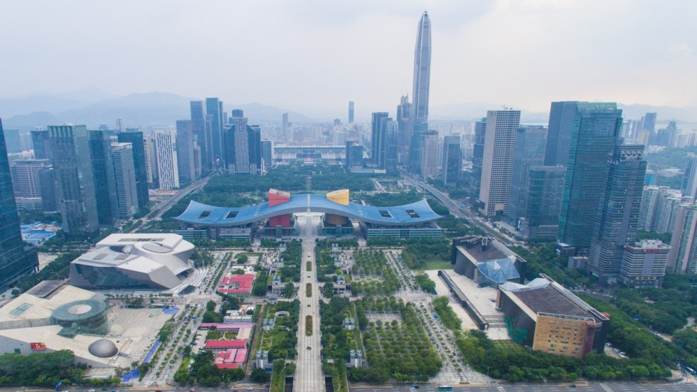 shenzhen economy closing in on hong kong under revised