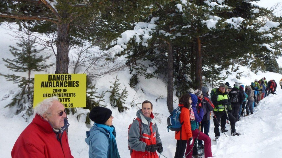 African Migrants Risk Freezing To Death In Snowy Alps Reach