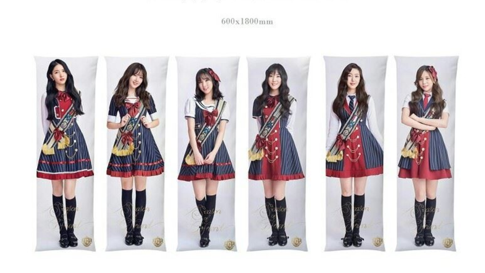 Life Size Pillows Of K Pop Group Gfriend Cause Concern In