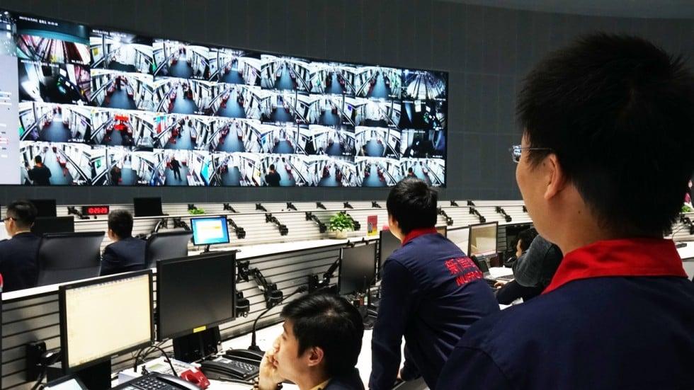 Metro Pickpockets Beware China S Hi Tech Cameras Are