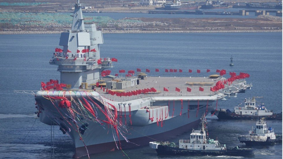 China Has Started Building Its Third Aircraft Carrier