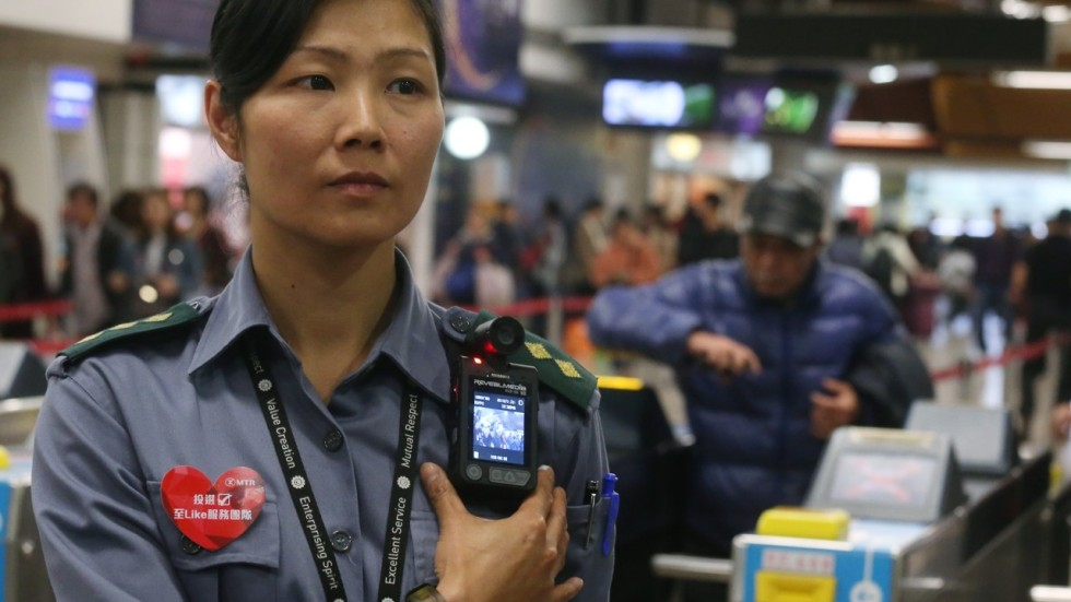 Chinese Police Testing Panoramic View Body Cameras With