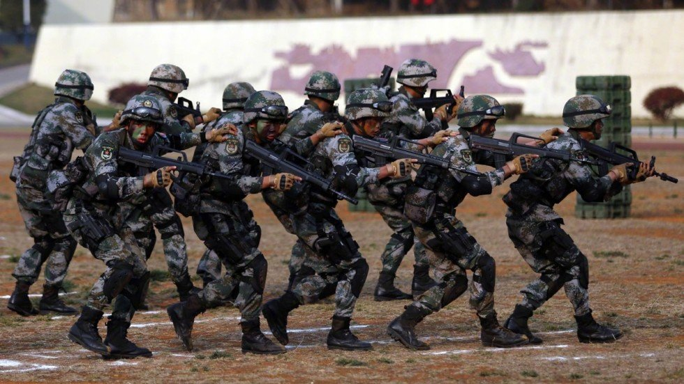 cambodia begins military drills with �great friend� china