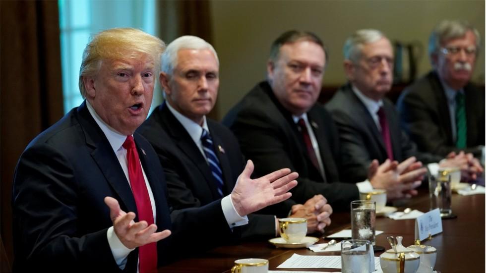 Hasil gambar untuk 'Trump ordered a preemptive strike on N. Korea 1 month into presidency,' a book says