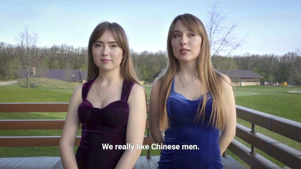 Chinese dating white girl