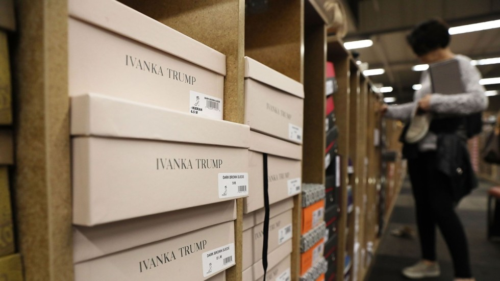 As trade war rages, the shoe biz goes on for Ivanka Trump and her ...