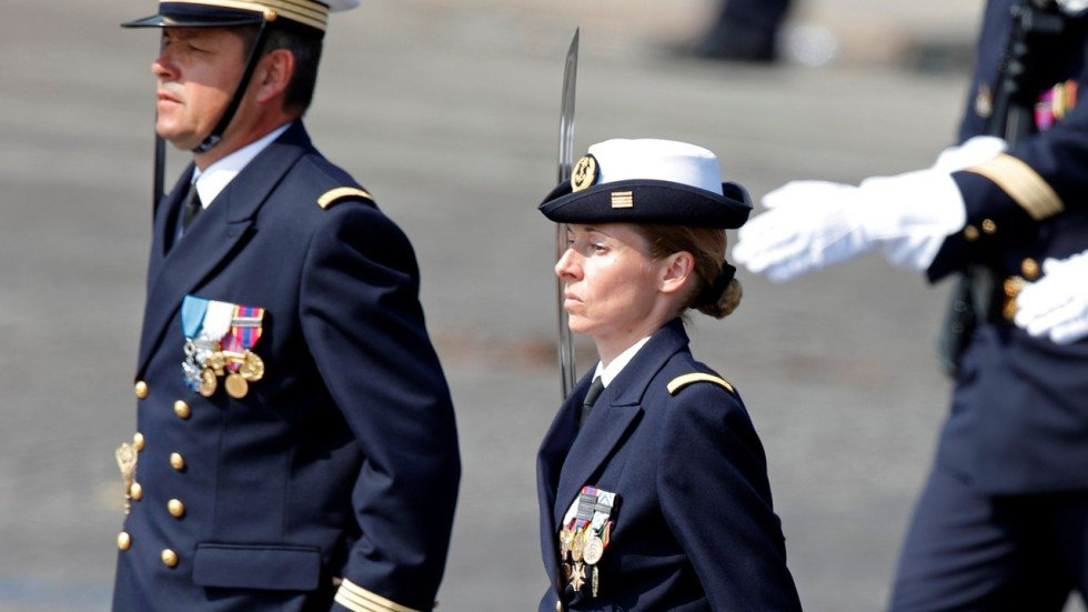 baptism at sea for first women to join ranks for france s nuclear