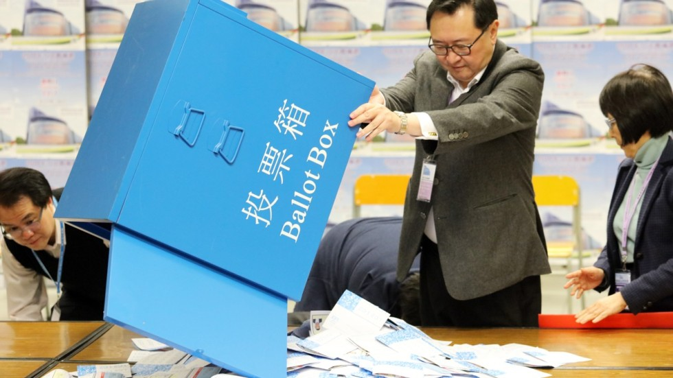 Why redrawing map for Hong Kong district council elections