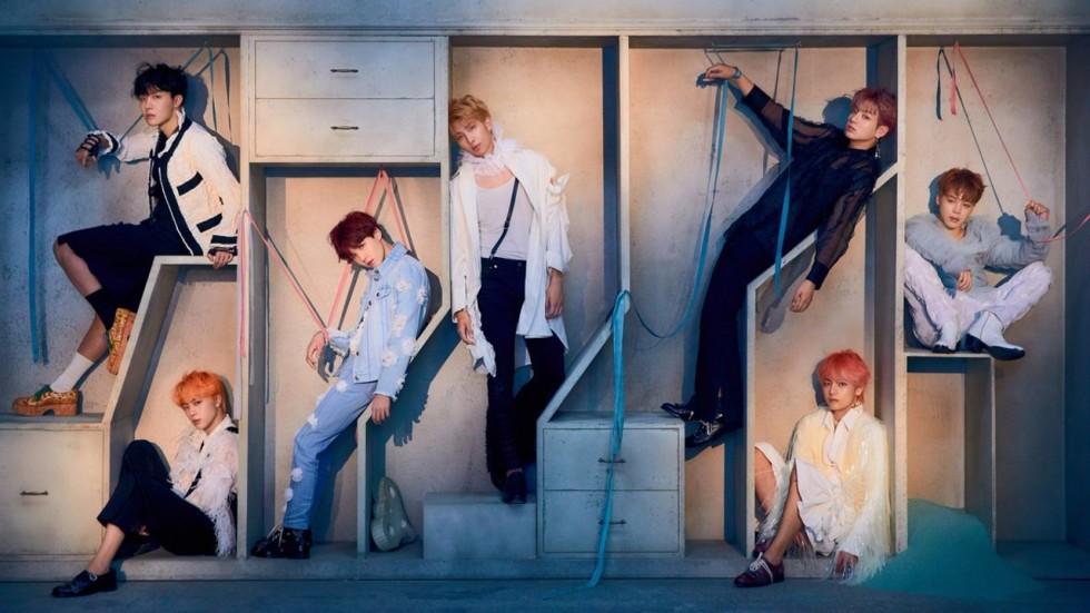 K pop boy band bts reveal full tracklist for new album - Love yourself wallpaper hd ...