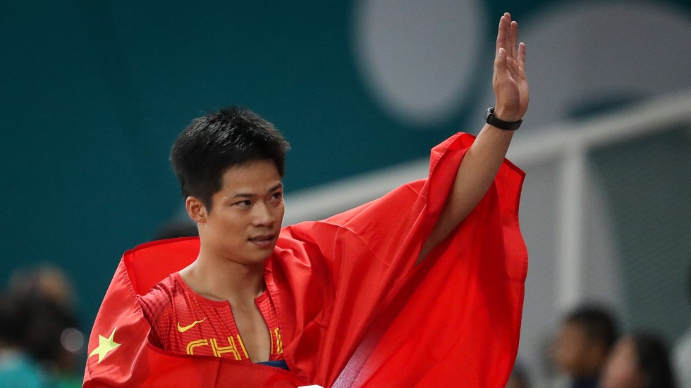 Asias Fastest Man Su Bingtian Values Asiad Gold Over Personal Bests Despite Setting Asian Games Record In  Metres Victory South China Morning Post