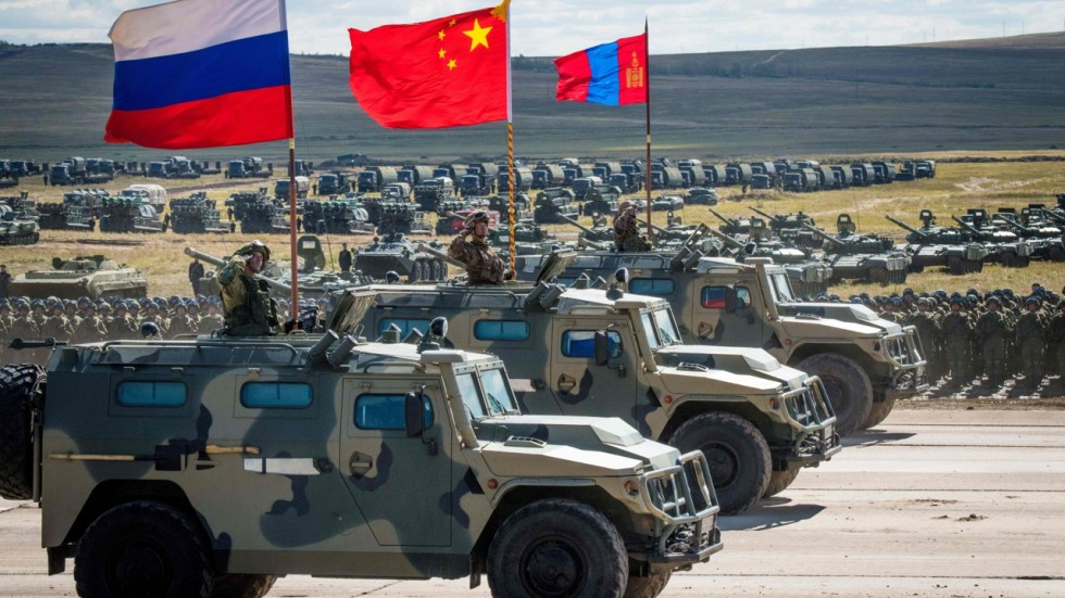 Mongolian Army Parade Russia-China military ...