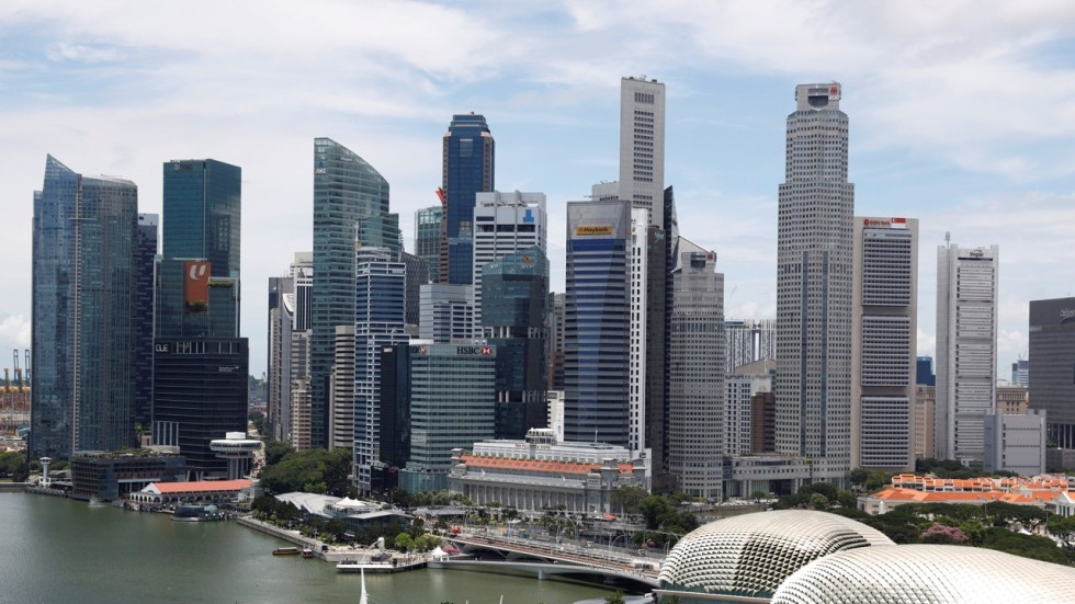 Singapore stepped in to host the Bloomberg New Economy Forum after it was  moved from China. Photo  Reuters 22cf32a801189