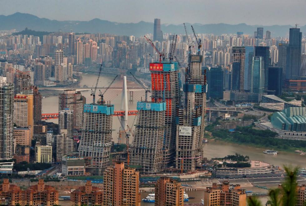 Chongqing is a key industrial metropolis in southwestern China.